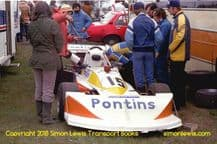 March 772P Kim Mather . Mallory Park   Aurora AFX British  F1 1979