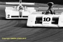 MARCH 827 (Smith) LOLA T530 (Flux) Brands Hatch Thundersports June 1987
