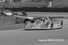 """MARCH 847 (Tiff Needell)  Brands Hatch Thundersports June 1987 10x7"""" photo"""