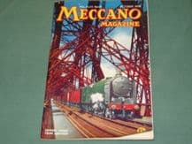 MECCANO MAGAZINE 1958 October Vol XLIII No109