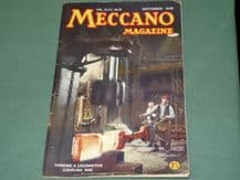 MECCANO MAGAZINE 1958 September Vol XLIII No.9