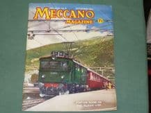 MECCANO MAGAZINE 1961 September Vol XLVI No.9