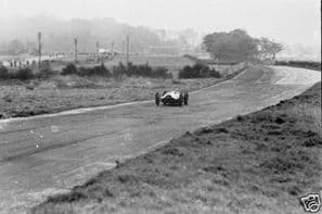 MERCEDES W154 1938 Donington GP at speed Starkey's