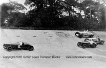 MG K3s and Vale Special. photo,cChasing  a...??? at Brooklands early 1930s. Photo.