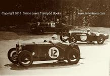 MG L Type (Hess/Wisdom) K3 (Manby Colgrave) Riley photo 1933 Brooklands 500 mile.