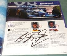 Michael Schumacher on 1995 European GP programme