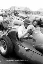 Mike Hawthorn 1952 Connaught A Type On The Grid Turnberry 1952