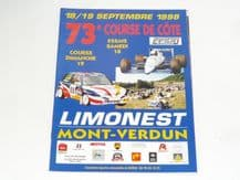 MONT VERDUN Hillclimb 1999 Sept 18-19 (France)