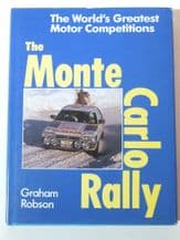 MONTE CARLO RALLY . The World's Greatest Motor Competitions :THE  (Robson 1989(