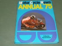 MOTOR CYCLE NEWS ANNUAL '75 (Whyte 1975)