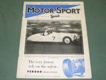 MOTOR SPORT 1949 September issue. Vol XXV No.9