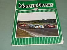 MOTOR SPORT 1970 March ( Porsche 917 win Daytona, Davrian, Broadspeed Capri)