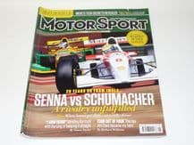 MOTOR SPORT 2014 May (Senna vs Scumacher, Jim Clark, Justin Wilson, John Force)