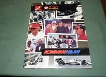 NEWMAN HAAS CART series Press Kit 1993 (April) Mansell/Mario