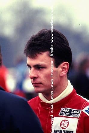 Paul Warwick  photo 1991 British F3000 Oulton March 30 (b)