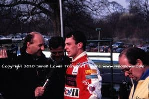 Paul Warwick  photo 1991 British F3000 Oulton March 30 (c)