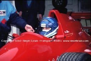 Paul Warwick Reynard 90D  .photo 1991 British F3000 Brands Test (b)