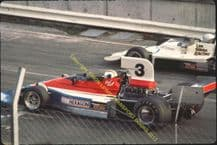 Penske PC3 Bell & Lola T400 Holland Brands Shellsport 5000 October1976  photo