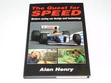 QUEST FOR SPEED : THE. Modern Racing  Car Design And Technology (Henry 1993)