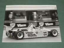 "RALT RT3 F3 Johnny Dumfries. Donington Park 1984 original period 8x6"" photo"