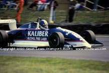 Ralt RT34 F3  photo  Paul Warwick.  1990 Brands Hatch 20th May (A)