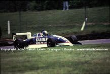 Ralt RT34 F3  photo  Paul Warwick.  1990 Brands Hatch 20th May (D)