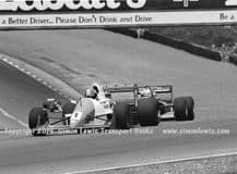 Reynard 90D  Paul Warwick .photo 1991 British F3000 Brands June 30th (a)