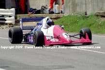 Reynard 90D  Paul Warwick .photo 1991 British F3000 Brands May 12th (a)