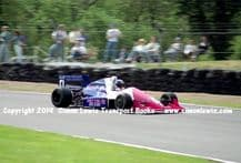 Reynard 90D  Paul Warwick .photo 1991 British F3000 Brands May 12th (b)