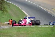 Reynard 90D  Paul Warwick .photo 1991 British F3000 Brands May 12th (d)