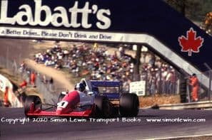 Reynard 90D Paul Warwick photo 1991 British F3000 Brands Hatch May 12 (D)