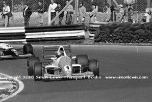 Reynard 90D Paul Warwick photo 1991 British F3000 Brands Hatch May 12 (H)