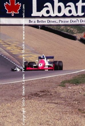 Reynard 90D Paul Warwick photo 1991 British F3000 Brands Hatch May 5 (a)