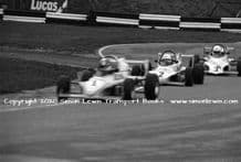 Reynard SF86 FF2000 Paul Warwick and others Brands Hatch 23rd November 1986