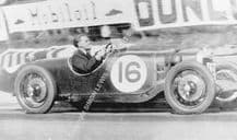 Riley  9 Brooklands, FW Dixon 1933. RAC Tourist Trophy. Ards.  photo