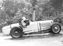 Riley Six  Mrs Kay Petre  in ex Mays WHITE RILEY at Shelsley 1935