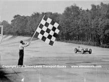 Riley. FW Dixon . Photo.  Winning 1933 Brooklands 500.