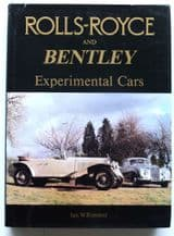 Rolls-Royce and Bentley Experimental Cars (Rimmer 1986 )