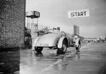 """Spikins Special. F.R.G. """"Bob"""" Spikins. AEC Southall Speed Trial 1937"""