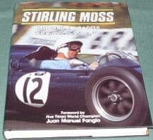 STIRLING MOSS - My Cars My Career.(Signed)