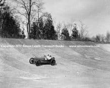 Sunbeam Indianapolis (BLUE BIRD) Malcolm Campbell c.1923 at Brooklands . photo