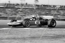 Surtees TS8 F5000 Sam Posey. Questor GP 1971 action photo.