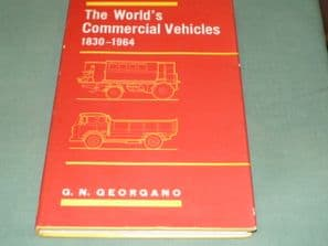 THE WORLD'S COMMERCIAL VEHICLES 1830-1964. Georgano