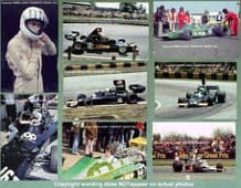 "TOM PRYCE - UOP SHADOW  & TOKEN F1 set of 8 photos 1974-5 - all 7x5"" (175x125mm)"