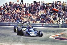 "TYRRELL 007 Jean-Pierre Jabouille 1975 French GP 10x7"" photo"