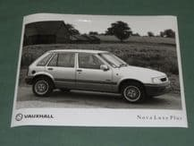 "VAUXHALL NOVA Luxe Plus (K Reg)   factory issued 8x6"" press photo"