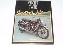 Vincent Twins - Super Profile (Bickerstaff 1984) signed