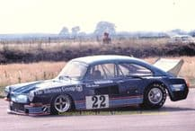 "VW Super Saloon DFVW Colin Hawker Silverstone 1976 7x5"" photo"