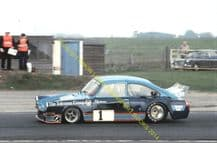 "VW Super Saloon DFVW Colin Hawker Snetterton 1976 7x5"" photo"