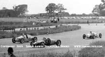 WASP 500cc ,  KIEFT and Unknown . Jack Moor and others.Photo  Silverstone  circa 1953